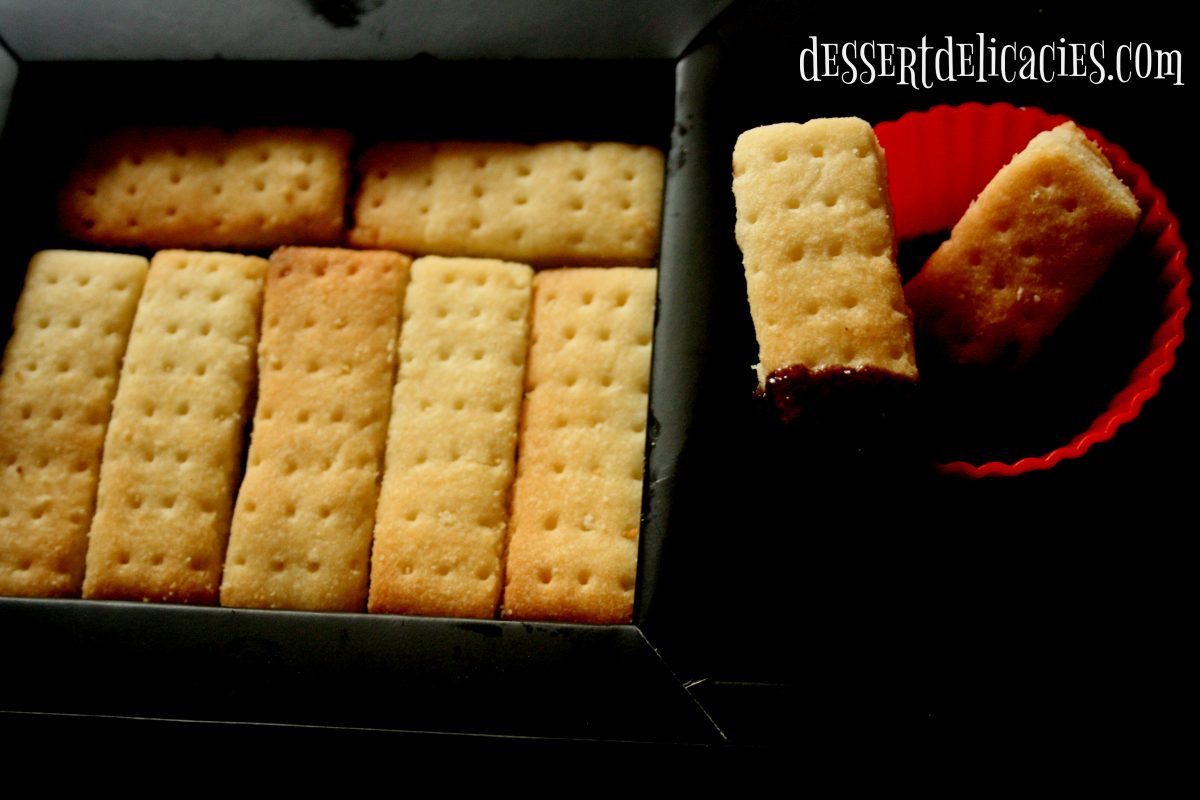 Scottish shortbread biscuits