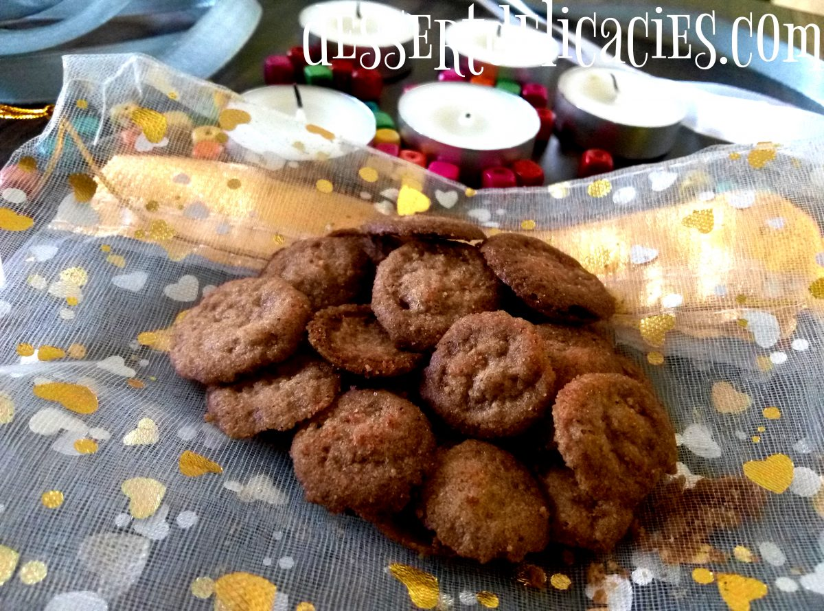 Cocoa coffee cookie coins