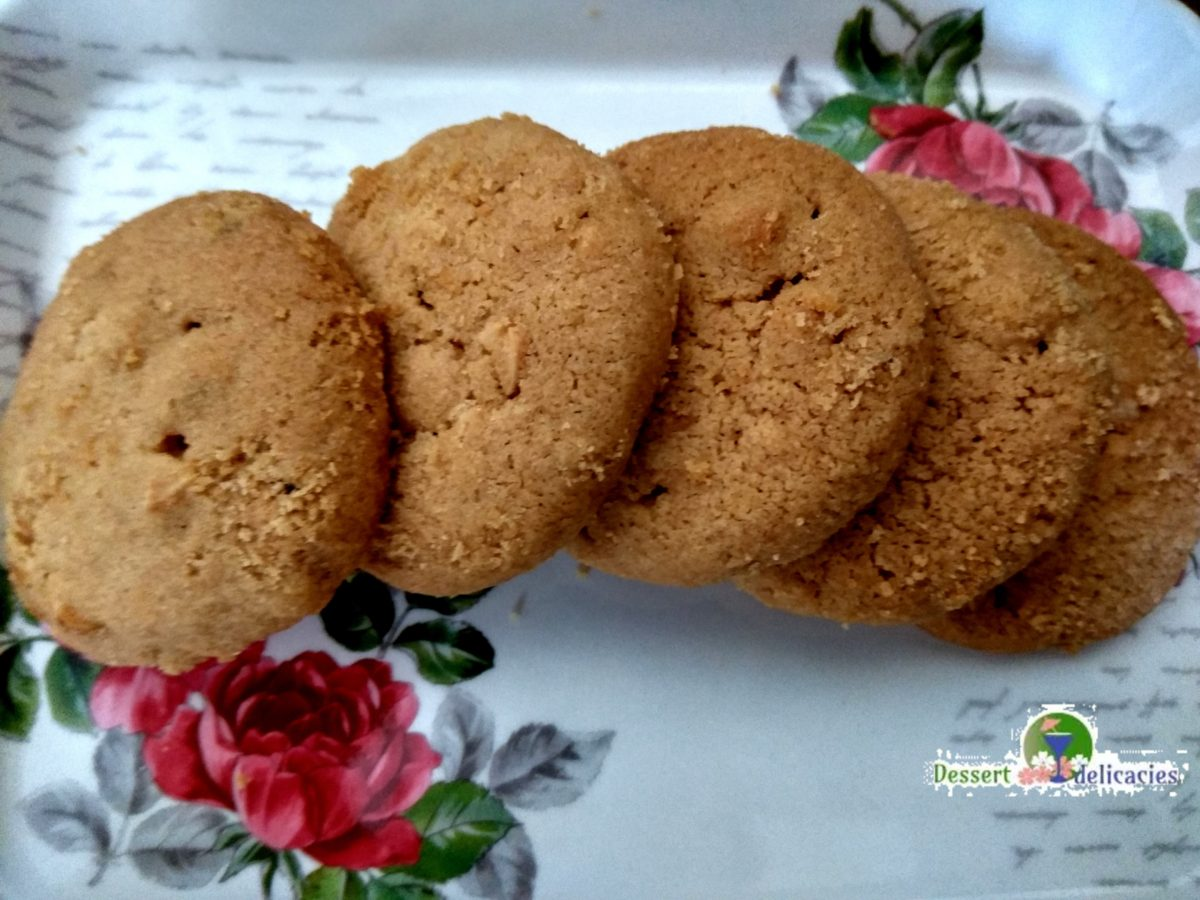 Chunky peanut butter Cashew cookies
