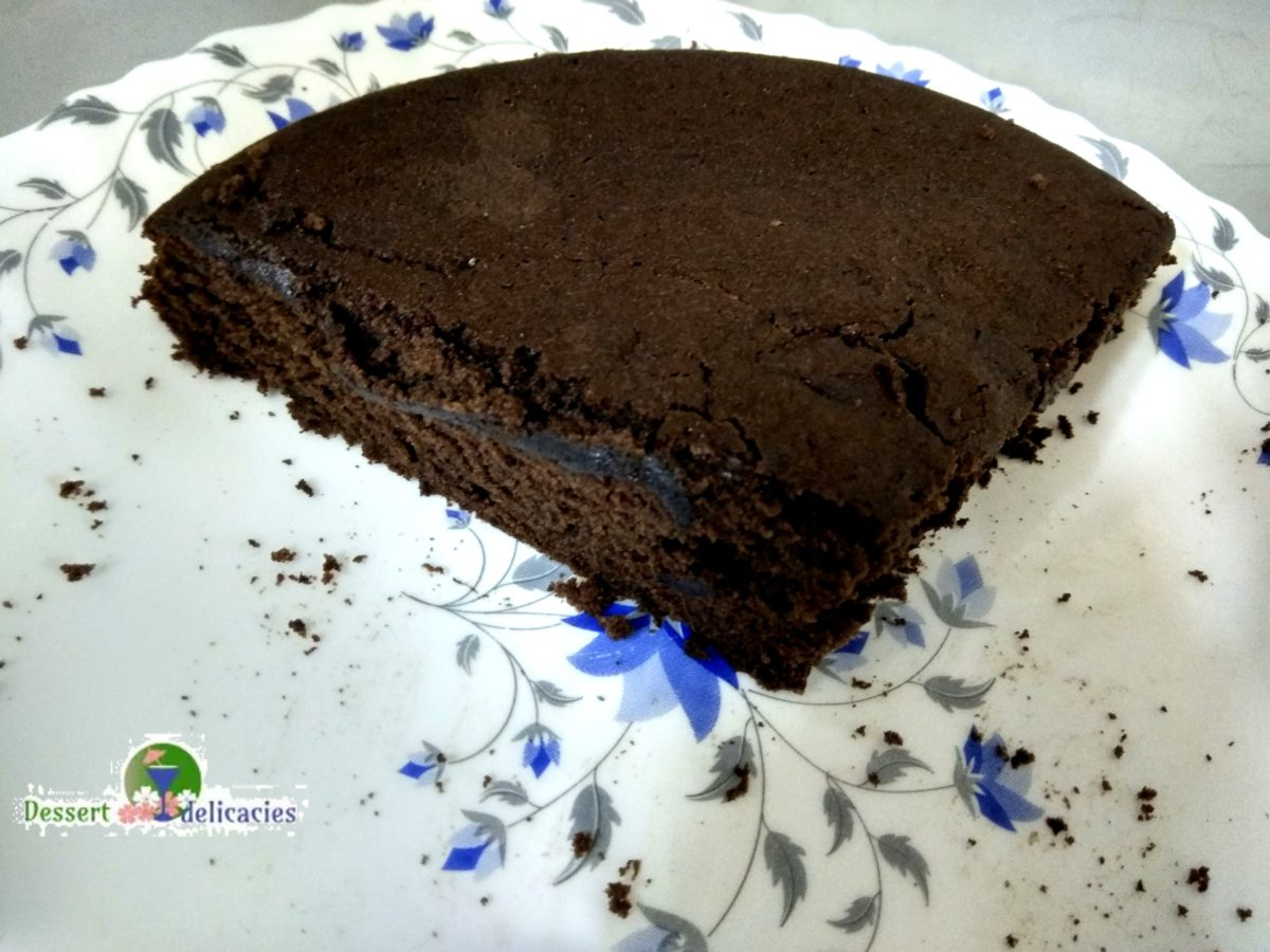 Foolproof chocolate butter cake