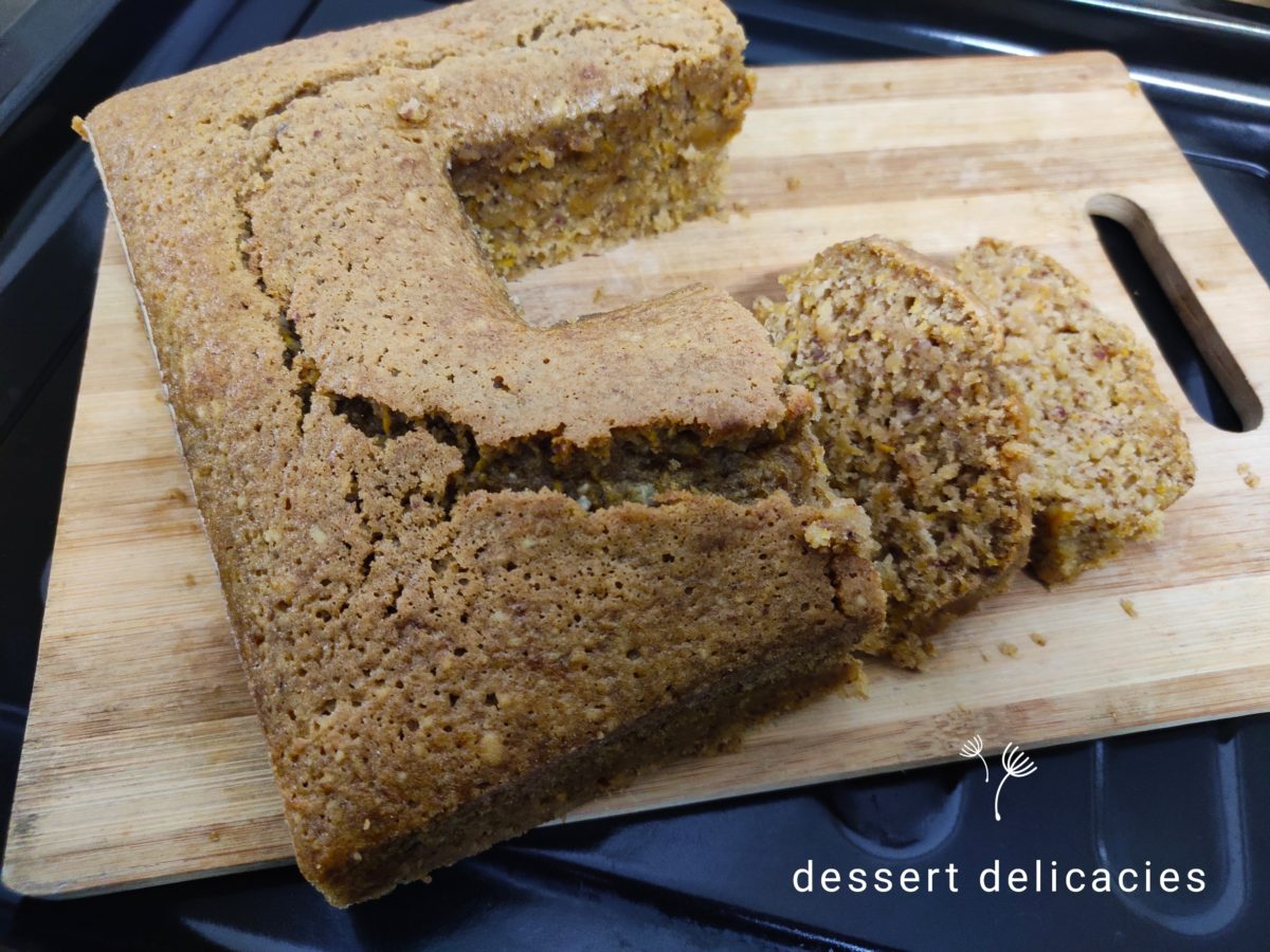 Zucchini Almond breakfast loaf